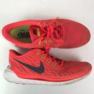 Nike free 5.0 724382-600 shoes sneakers